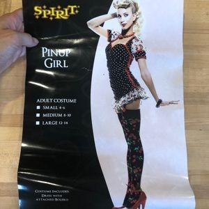 Pinup Girl Halloween Costume